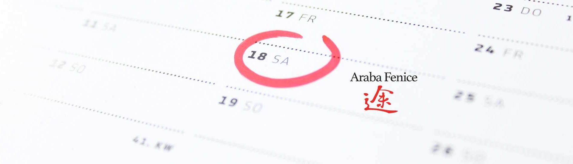 Iscriviti ai prossimi eventi di Araba Fenice e sfrutta le promozioni pensate per te