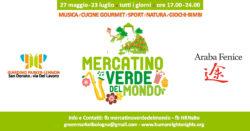 Vieni a trovarci al Mercatino Verde del Mondo a San Donato - Bologna